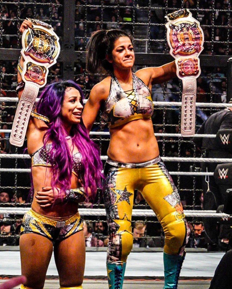 PWMania.com WWE News's photo on sasha and bayley