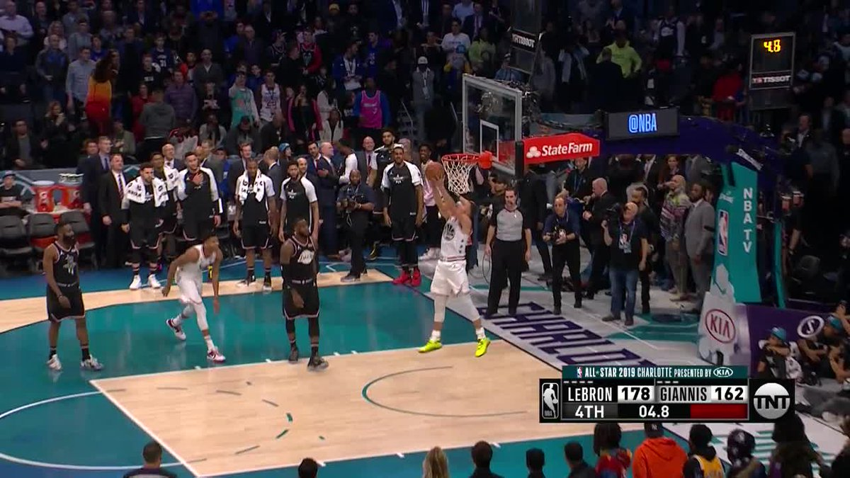We need to talk about @StephenCurry30: 2020 Slam Dunk contestant or nah? 👀🤔  (🎥: @NBCSWarriors)