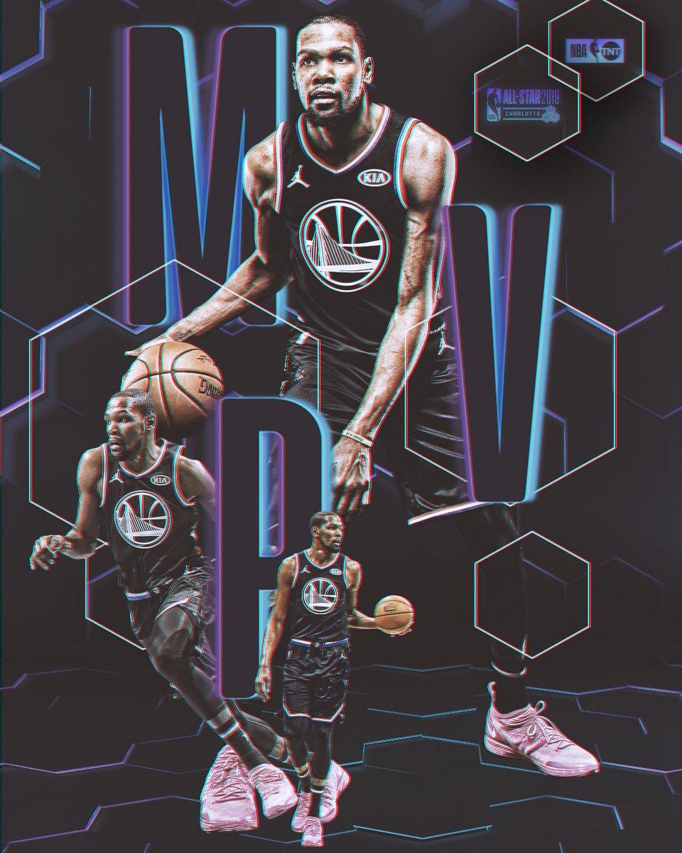Kevin Durant takes home the 2019 #KiaAllStarMVP! 🏆  #NBAAllStar