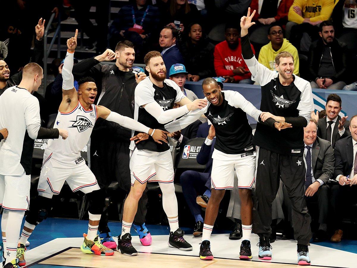 Looking forward to Thundering Up #NBAAllStar again next year.