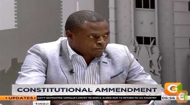 Ndindi Nyoro: No one is opposed to a referendum; what we are opposed to is the timing.  If we are going to go through a referendum,  why not go through it via elections?   #DayBreak