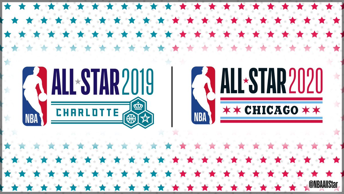 From Charlotte to Chicago! #NBAAllStar