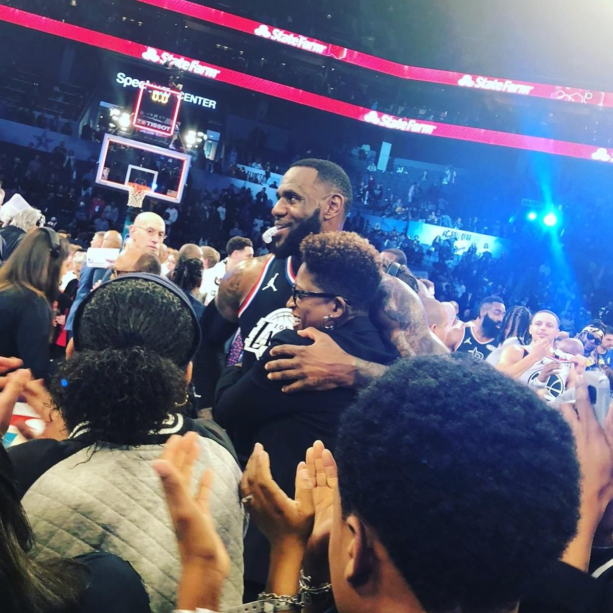 From all of us at Right Moves for Youth, thank you NBA, NBA Cares, NBAPA, LeBron James, and Team LeBron! Because of you, we will continue to build better lives. #atalltimes