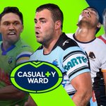 NRL CASUALTY WARD  Every club's injury list and expected return dates: https://t.co/8EvvSd8sm1