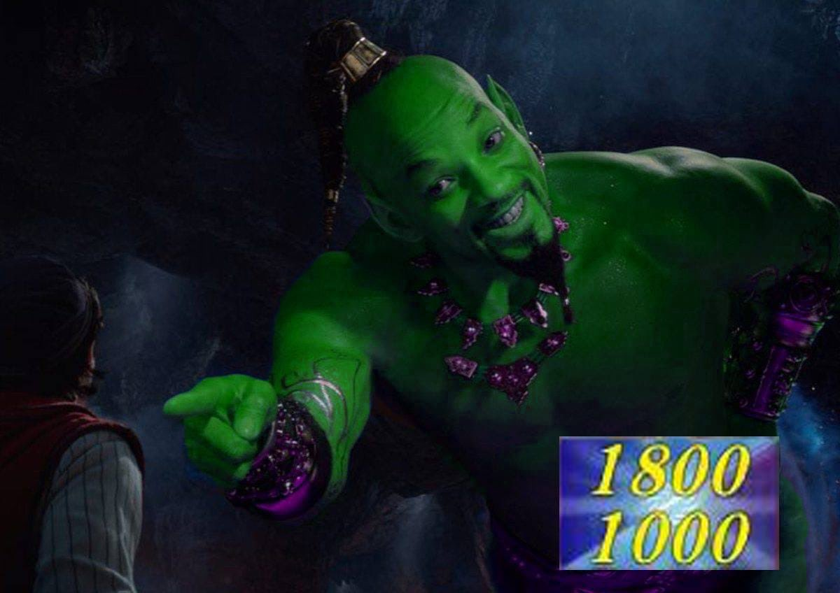 Easily the best will Smith genie meme I have seen <br>http://pic.twitter.com/MK6mu3kc4y