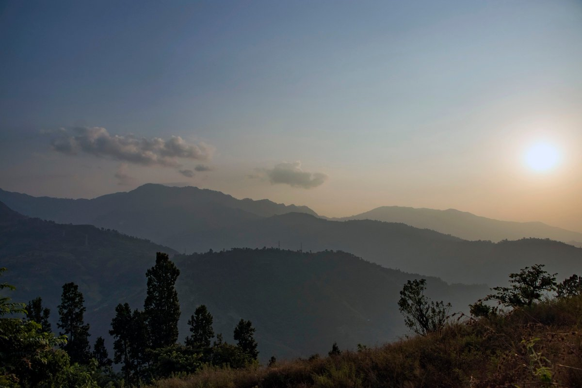 I always say that the times in my life when I've been happiest are the times when I've seen, like, a sunset. View from Belaspur, Nuwakot #sunsets #Travel #Tour #Nepal