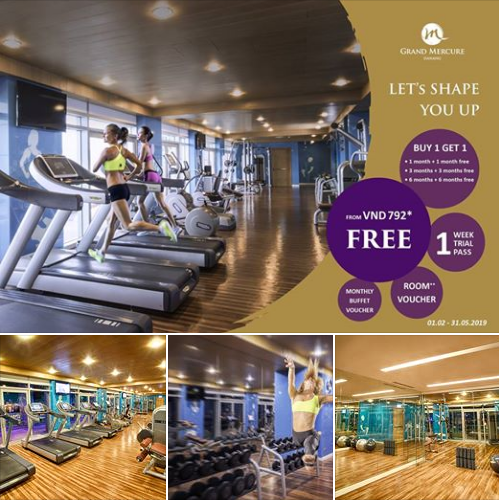 "LET'S SHAPE YOU UP  Get in shape and hit your #fitness goals with our ""#BUY1GET1"" promotion.  Join today and get access to membership benefits: FREE 1 week trial pass - Using jacuzzi, sauna, steam & swimming pool - Buffet voucher for 2 persons every month - Room Voucher** https://t.co/38tXXwevk8"