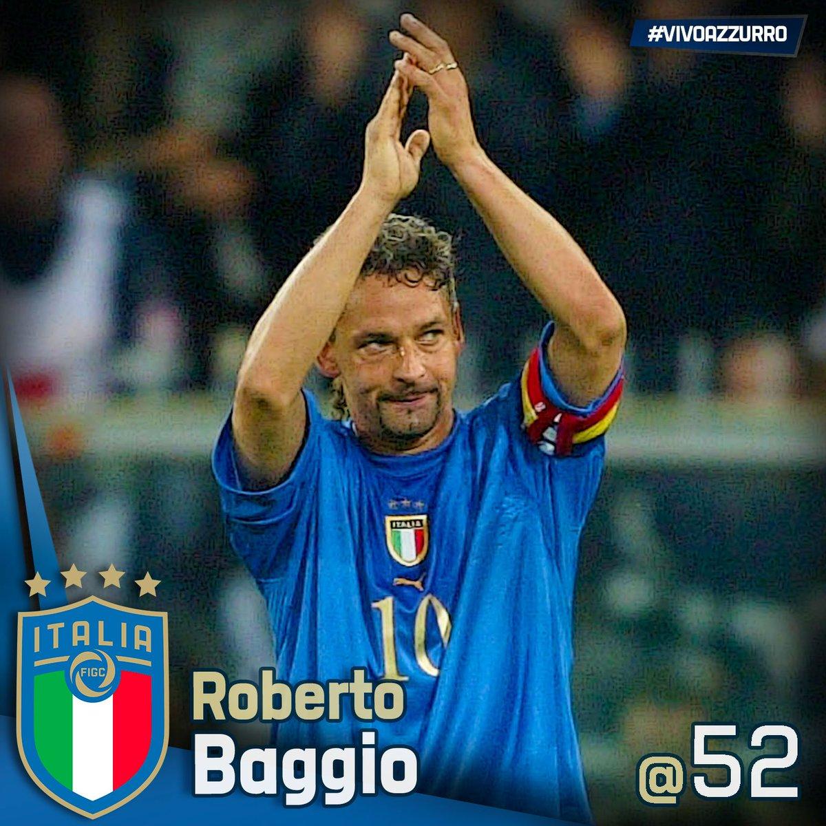 🎂 Buon compleanno a Roberto #Baggio! 🇮🇹 56 presenze in #Nazionale ⚽️ 27 #gol 🥇#PalloneDOro 1993 ⭐️ #HallOfFame del #Calcio Italiano 🗓 #Caldogno, #18Febbraio 1967 L'articolo 👉🏻 https://bit.ly/2IlZk7s  #Azzurri #EroiAzzurri #VivoAzzurro #Italia #RobertoBaggio