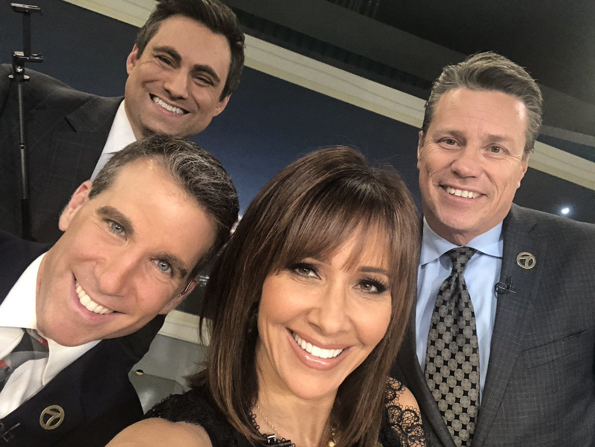 In honor of the upcoming 91st #Oscars, an homage to Ellen's #OscarGroupSelfie. Happy Sunday from your #ABC7EyewitnessNews Weekend team! @ABC7Jory @abc7jonathan @abc7curt