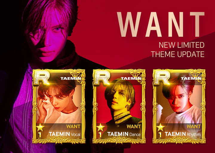 [I 'WANT' #TAEMtation!] #TAEMIN #ArtisticGroove updated! Feel the artistic groove of TAEMIN! Time to move your fingers! Check out NEW THEME! And don't forget! TAEMIN Limited Edition Profile Pics and SPECIAL PACKAGE!  #태민 #TAEMIN #샤이니 #SHINee #WANT<br>http://pic.twitter.com/gPKAOxy3YO