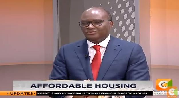CS James Macharia: No house will be costing more than Ksh.2M   This is way cheaper if you compare it with what Kenyans have been used to  #DayBreak <br>http://pic.twitter.com/PJAt10yVC1