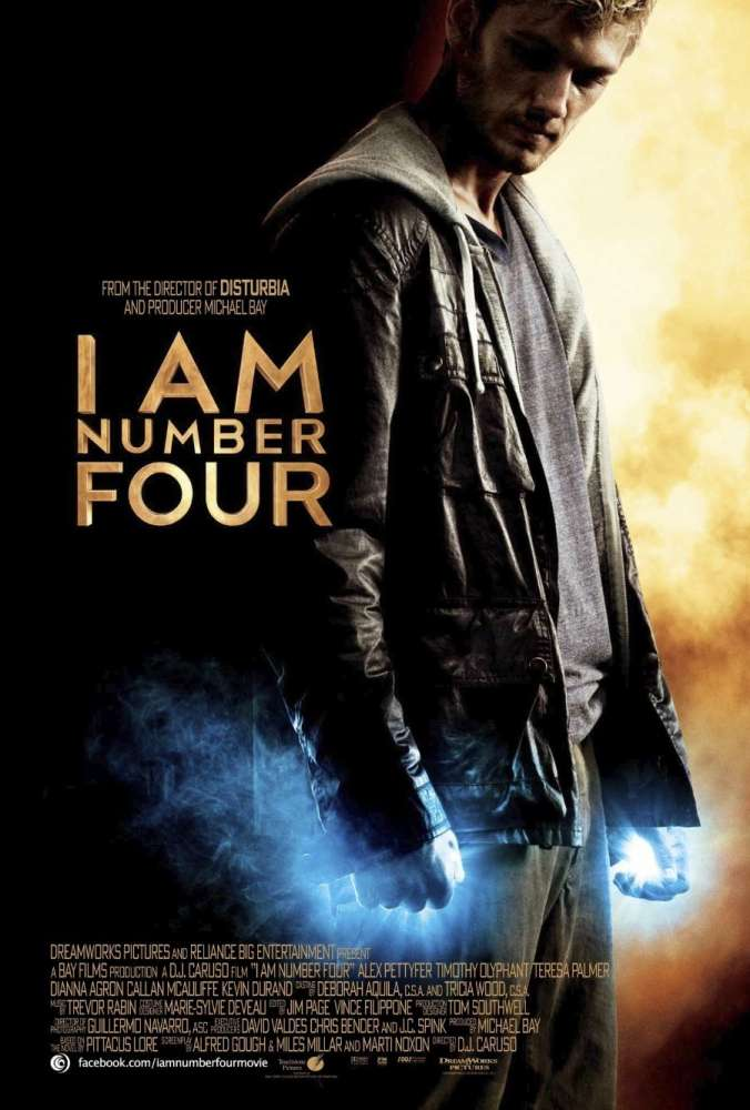 I Am Number Four was released on this day 8 years ago (2011). #AlexPettyfer #TimothyOlyphant - #DJCaruso
