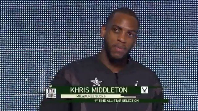 """""""He made the long journey from the G League to his first @NBAAllStar game"""" 🌟 #GLeagueAlum Khris Middleton (@Khris22m) produced 20 PTS including 6 triples while playing for #TeamGiannis"""