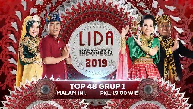 #LIDA2019 memasuki babak 48 besar!  Apakah jagoan kamu lolos kebabak 48 besar? Jangan sampai ketinggalan penampilan dari group 1 Cut dari Aceh, Dayat dari Bali, Hijrah dari Sulawesi Barat dan Rian dari Kalimantan Utara pukul 19.00 WIB