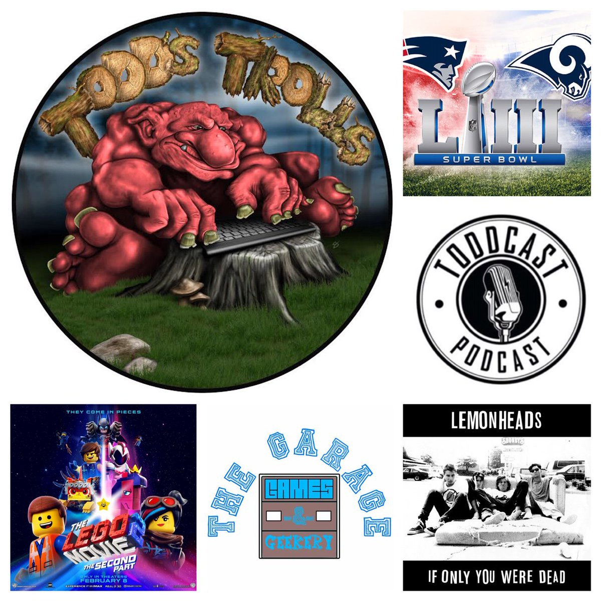 """The #trolls can be relentless. #TheLemonheads #SuperBowl & #TheLEGOMovie2 get chirped off in the latest """"Todd's Trolls"""".  No one and nothing is safe. http://ow.ly/sedW30nzUuU  * Powered by @GarageGeekery - Your place to slay trolls in #MapleRidge!"""