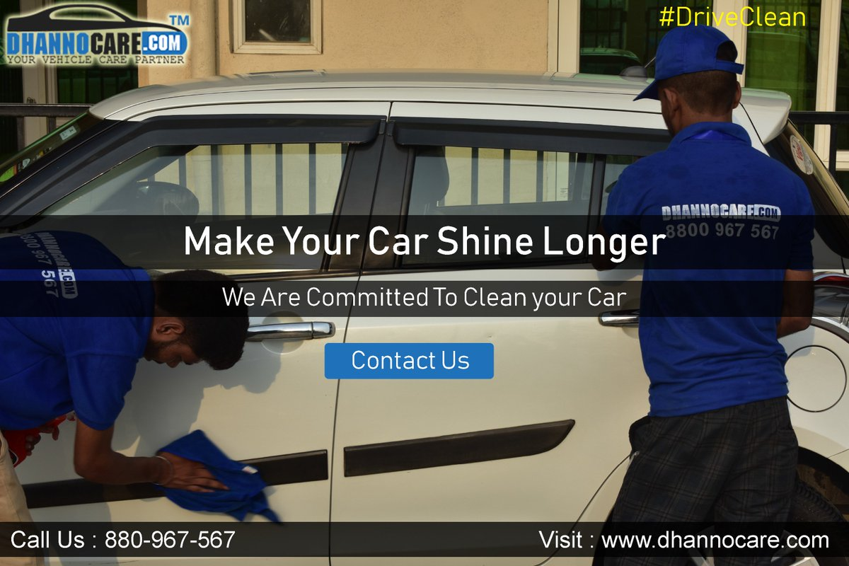Dhannocare On Twitter Gift Your Car With A Clean And Spotless Services Every Morning Dhannocare Daily Car Cleaning Service At Home In Noida New Delhi Location For More Details Call Us 8800 967 567 Driveclean Carwash Carcleaning Carcare