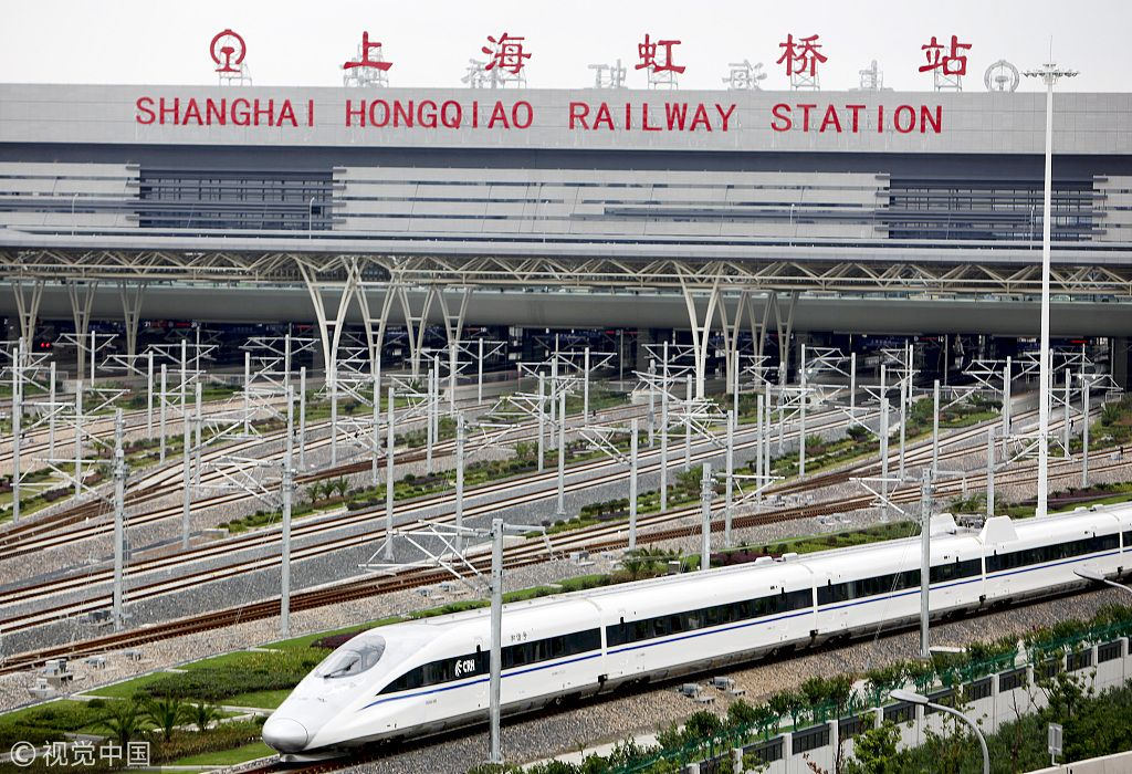 JUST IN: US efforts in banning Huawei equipment won't stop #China's advancement in #5G: Huawei unveils its first #5G-enabled indoor digital systems on Monday to help Shanghai Hongqiao Railway Station become the first 5G-powered smart railway station.