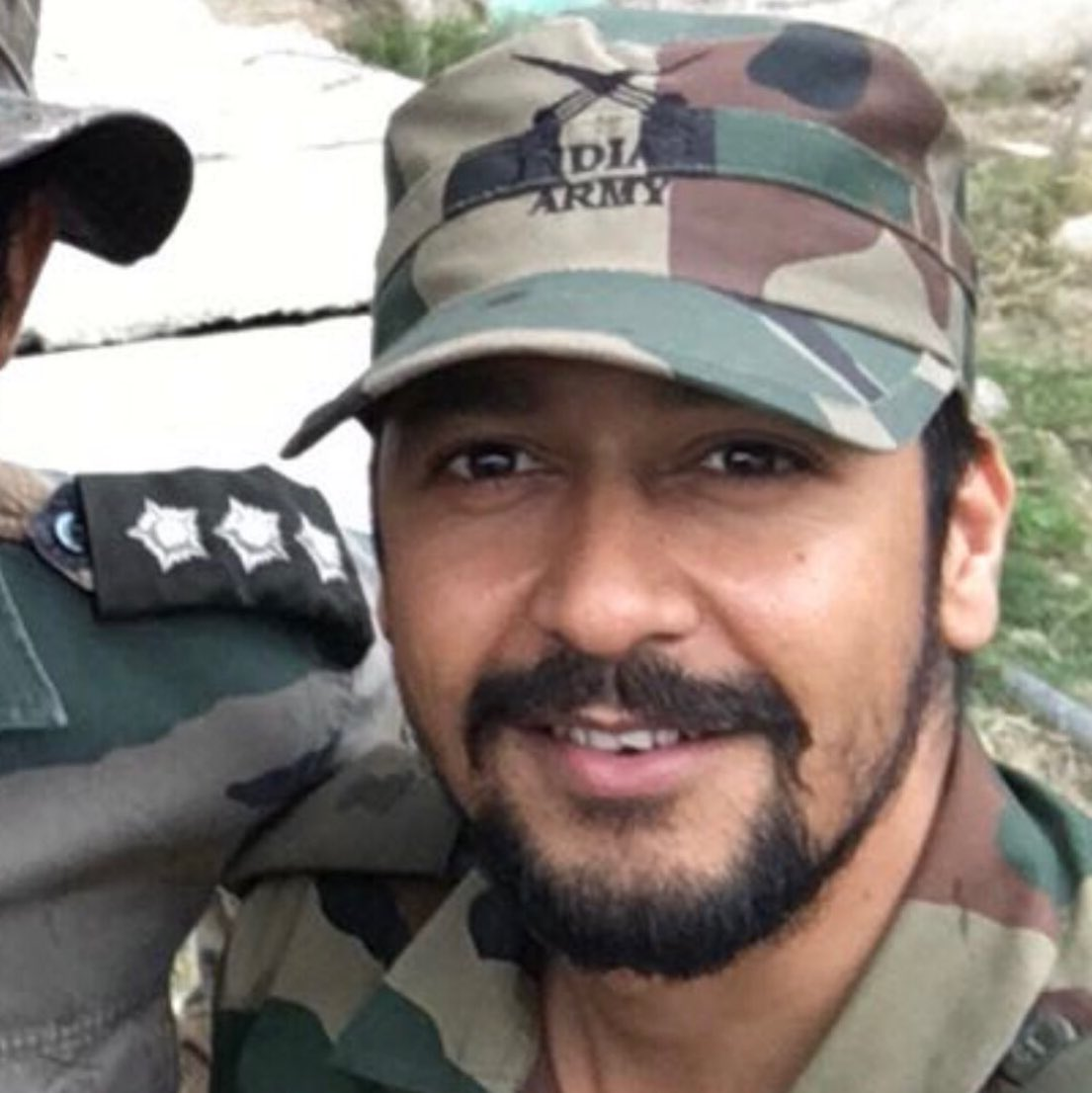 Major Vibhuti Dhoundiyal, the young officer killed in today's encounter with Jaish terrorists in Pinglana, Pulwama. The other three are Havildar Sheo Ram, Sepoy Ajay Kumar and Sepoy Hari Singh. They fell to bullets when the cordon was being laid. What a terrible, terrible loss.