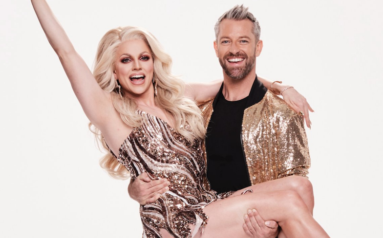 .@courtneyact slays with same-sex routine on Dancing With The Stars.  https://t.co/um0Am0TArg