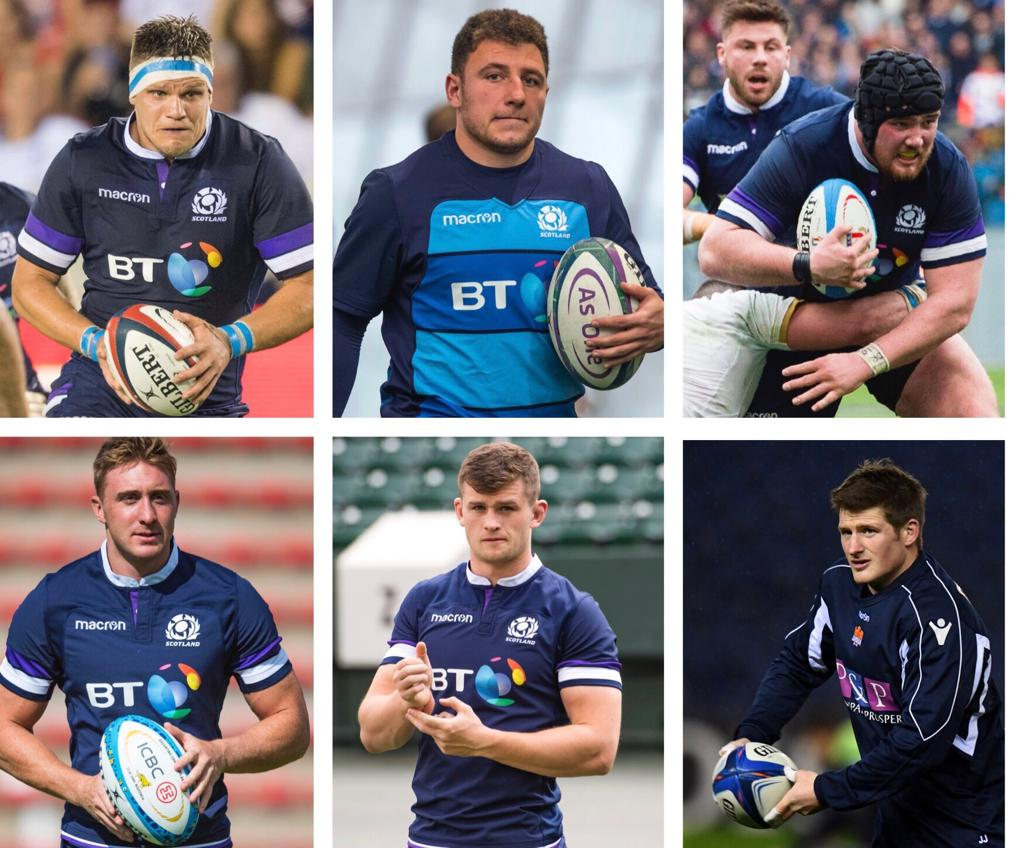 SQUAD UPDATE   Head Coach Gregor Townsend today added six players to the Scotland squad ahead of this Saturday's round three Guinness Six Nations Test against France in Paris, and provided an update on Finn Russell and Stuart Hogg.  ➡️  https://t.co/kCPMn0lOpb
