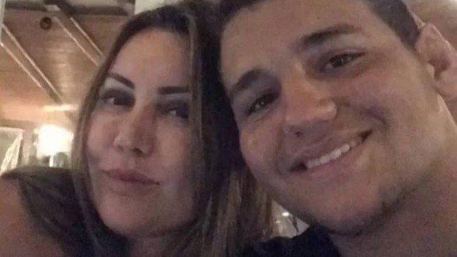 Lutador Rayron Gracie, filho de mulher espancada, se declara à mãe https://t.co/r19HFYWhSi