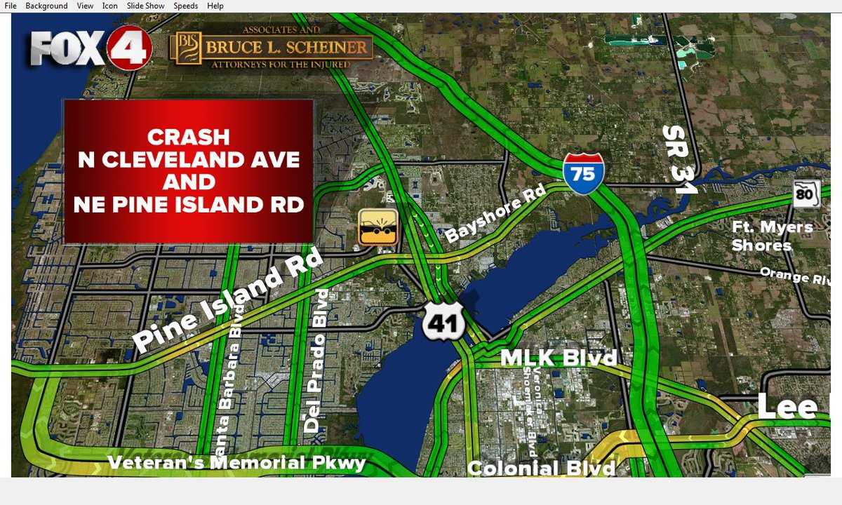 #TRAFFICALERT: @leesheriff reporting a crash at N Cleveland Ave and NE Pine Island Rd. Expect delays #swfl #traffic