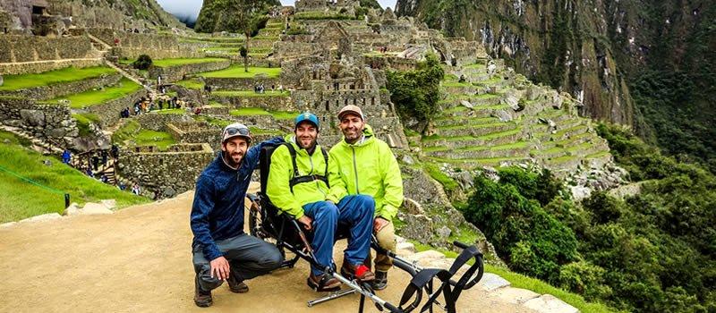 # MachuPicchu is now wheelchair accessible! #travelperu #perutravel  #discoverperu #exploreperu #cusco https://www.dosmanosperu.com/news/