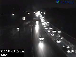 Parkway East delays now at Edgewood/Swissvale heading down to the Squirrel Hill Tunnels. #KDKAradioTraffic