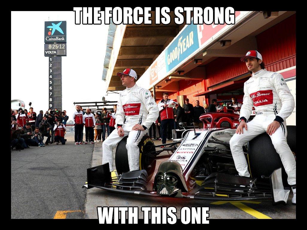 FacePalm Man's photo on #formula1