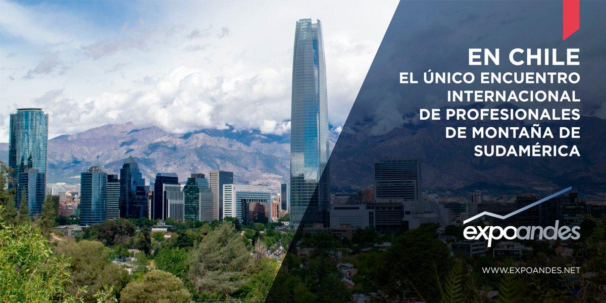¿Sabía que en #Chile se desarrolla la exhibición más importante de #Nieve y #Seguridad en Montaña y es organizada por la @fisa_oficial del Grupo @GLevents ? http://www.expoandes.net