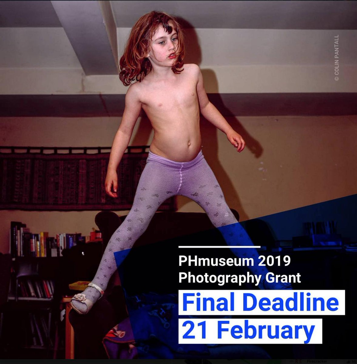 Only 3 days left to apply | DEADLINE 21 FEBRUARY | Present your work for £15,000 in cash prizes and MUCH more at http://phmuseum.com/grant   — NESSUNO[press] (NESSUNOpress) February 18, 2019  nessunopress