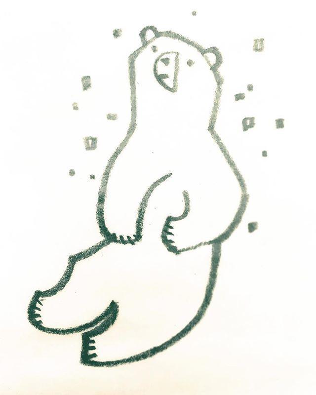 #ホッキョクグマ #PolarBear #Animal #北極熊  #シロクマ  #Endangeredspecies  #illustration  #wwf #西脇せいご #illustration_best  #bird #Seabird #動物イラスト #イラストレーション http://bit.ly/2toS0h8