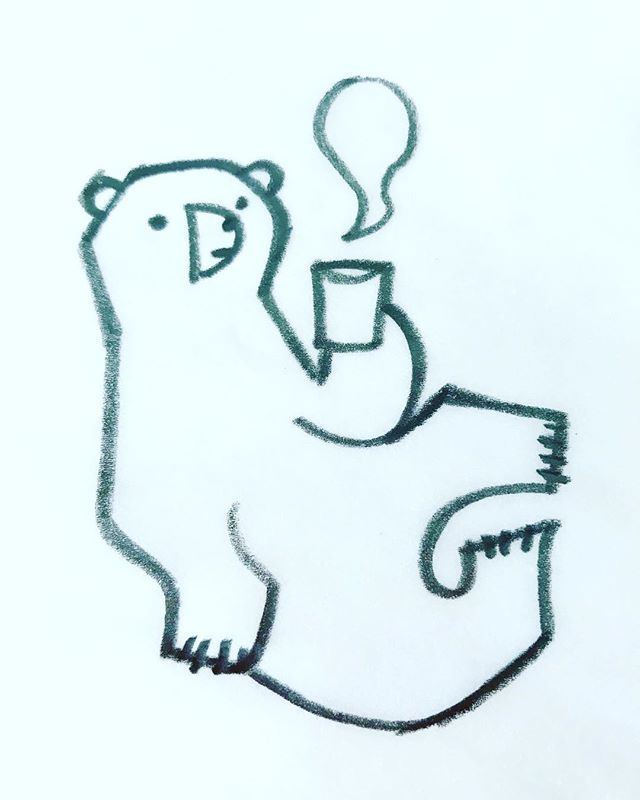 #ホッキョクグマ #PolarBear #Animal #北極熊  #シロクマ  #Endangeredspecies  #illustration  #wwf #西脇せいご #illustration_best  #bird #Seabird #動物イラスト #イラストレーション http://bit.ly/2GOUYmU