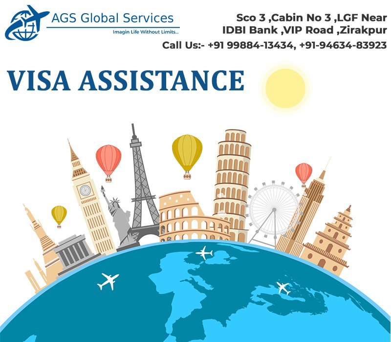 Offering efficient and customized services of full range visa assistance services to local clients and overseas clients.  #visa #immigration #travel #canada #australia  #canadavisa   #business #studentvisa #studyvisa #uk   For more details contact : agsglobalservices18@yahoo.com
