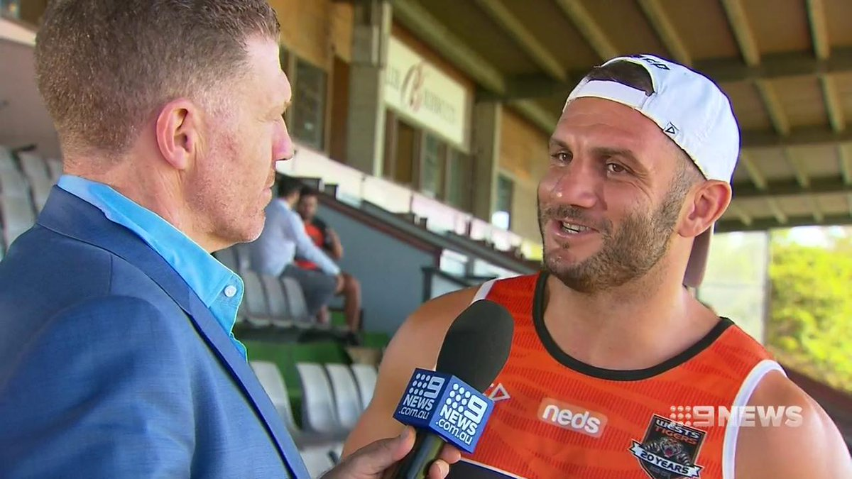 Tigers veteran Robbie Farah says its time the players stepped up to repair Rugby League's tarnished image. @Danny_Weidler #9News