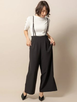[新着回答] SHELLYさんが着用していたパンツはTONALサスペンダーワイドパンツです http://tinyurl.com/y253np9u #SHELLY #ヒルナンデス #パンツ #TONAL #korecow #コレカウ