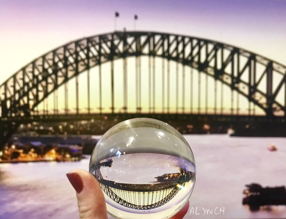 Sydney Harbour bridge  #lensball #sydneyaustralia #bridgeclimb #sydneycommunity #travelaustralia  #sydney #sydneylocal #harbourbridge  #travel #ilovesydney #seeaustralia  #australia_shotz  #sydneycommunity #sydney #australia #harbourbridgeclimb #visitaustralia #sydneyaustralia