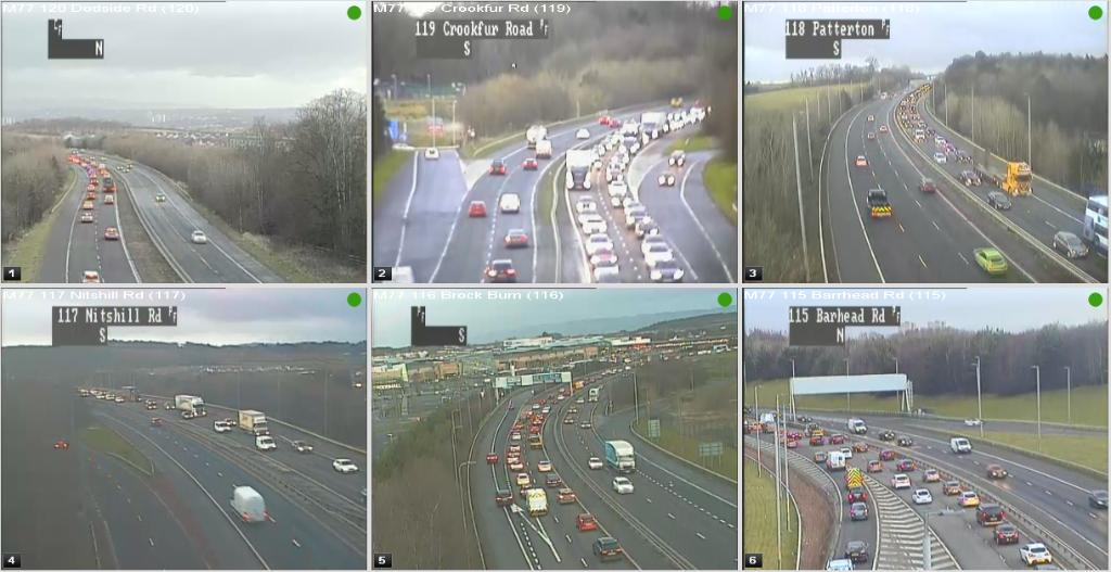 test Twitter Media - #M77 slow towards #Glasgow @ 07:50⌚  From just before J4 Crookfur Road - J2 Barrhead Road 🚘  @ScotTranserv https://t.co/cF1XyvjHiD