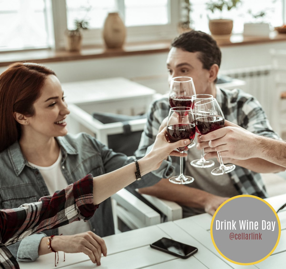 Happy Drink Wine Day!  Globally, it is celebrated annually every February 18 and its purpose is to spread the love and various health benefits of drinking wine.  Cheers to a healthy life! 🍷 #cellarlink #winetip #winelover #winemarketplace #winestorage #australia #hongkong #uk