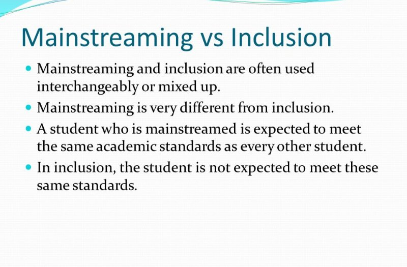We must learn to differentiate mainstreaming with inclusion .Check out this infographic for why!Happy New Week Fellows. #RT #mainsteam #inclusion #specialneeds #specialneedseducation #SpecialEducation #academiclife #MondayMotivation #inspirational #FactCheck