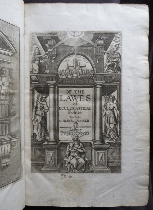 LAWES ECCLESIASTICAL POLITIE 1676 HOOKER Eight Bookes THEOLOGY Walton #books #antiquarian #theology #history #law #religion #17thCentury http://bit.ly/2X8Y3UH