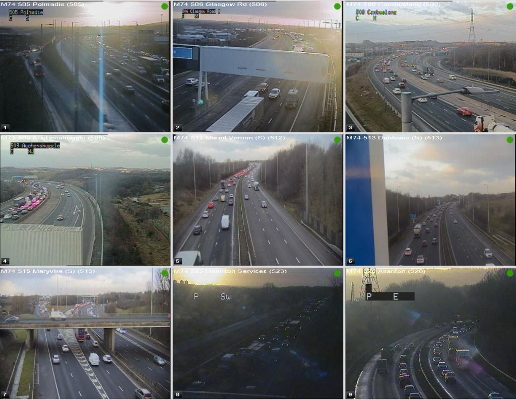 test Twitter Media - #M74 congestion heading N/B @ 08:06⌚  J4 Maryville - J1a Polmadie Road & around J6 Hamilton & J7 Larkhall 🚙  @ScotTranserv https://t.co/abW4FbLQHV