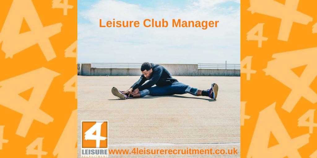 #Job - A Leisure Club Manager is needed in Berkshire | Health & Fitness Recruitment | Jobs from 4 Leisure Recruitment http://ow.ly/73LL30nECSj