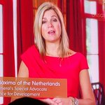 Image for the Tweet beginning: HRH Queen Maxima @QueenMaxima_ speaks