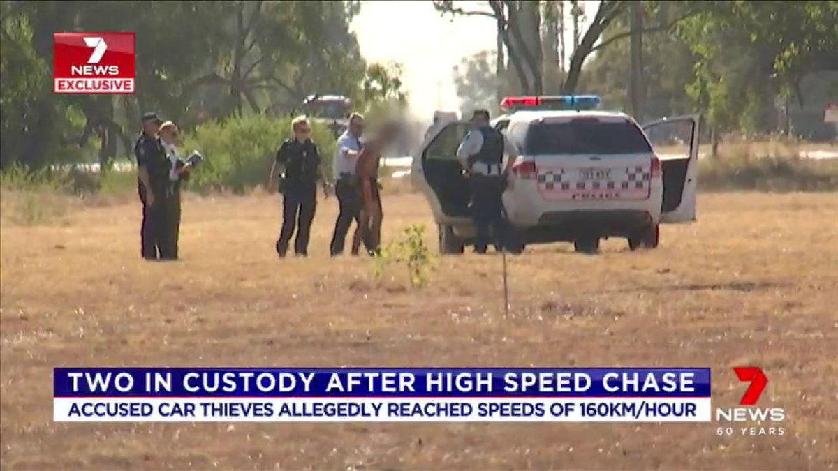 Two people are tonight behind bars following a high speed chase through the Western Downs. #7News