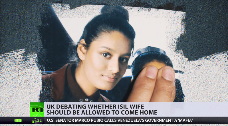 Should ISIS wife be allowed to come back to UK?