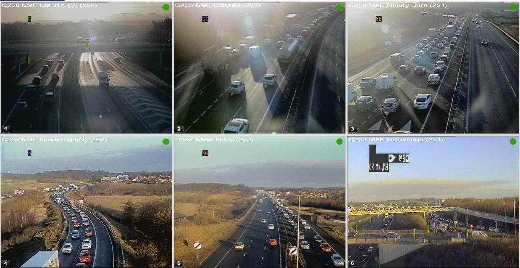 test Twitter Media - Low sun affecting the #M9 @ 08:27⌚  Looking slow J1a Kirkliston - J1 Newbridge 🚙  #edintravel @SETrunkRoads https://t.co/KWkLvGxcss