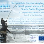 📢Registration for the final conference of #Interreg #SouthBaltic project #CATCH - Coastal Angling Tourism 🎣 🐟 🌊 is now open! If you're interested save this date: 5-6 April 2019 in Dźwirzyno🇵🇱 You can also submit your abstract for the poster session! ➡️https://t.co/kDe2Hp1Fet