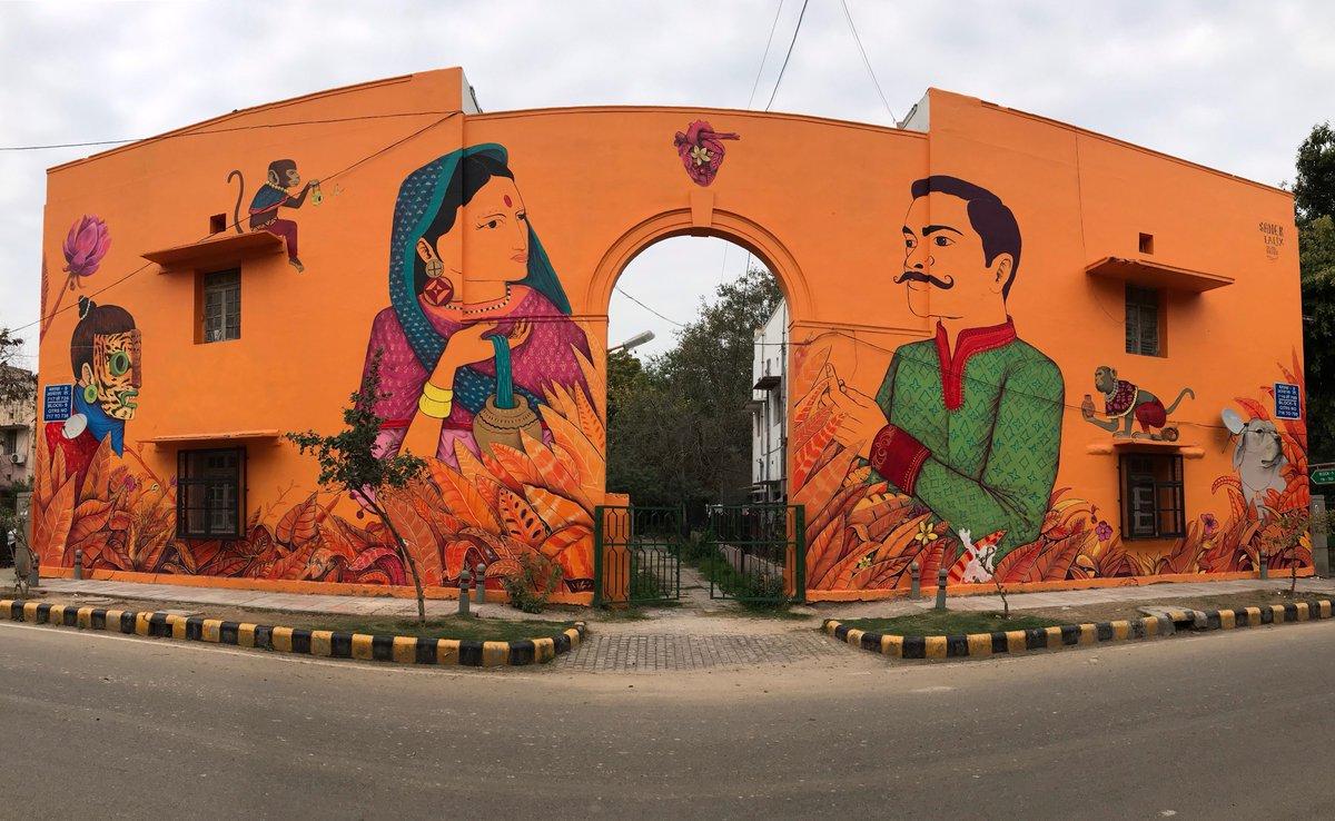 Image result for lodhi art street