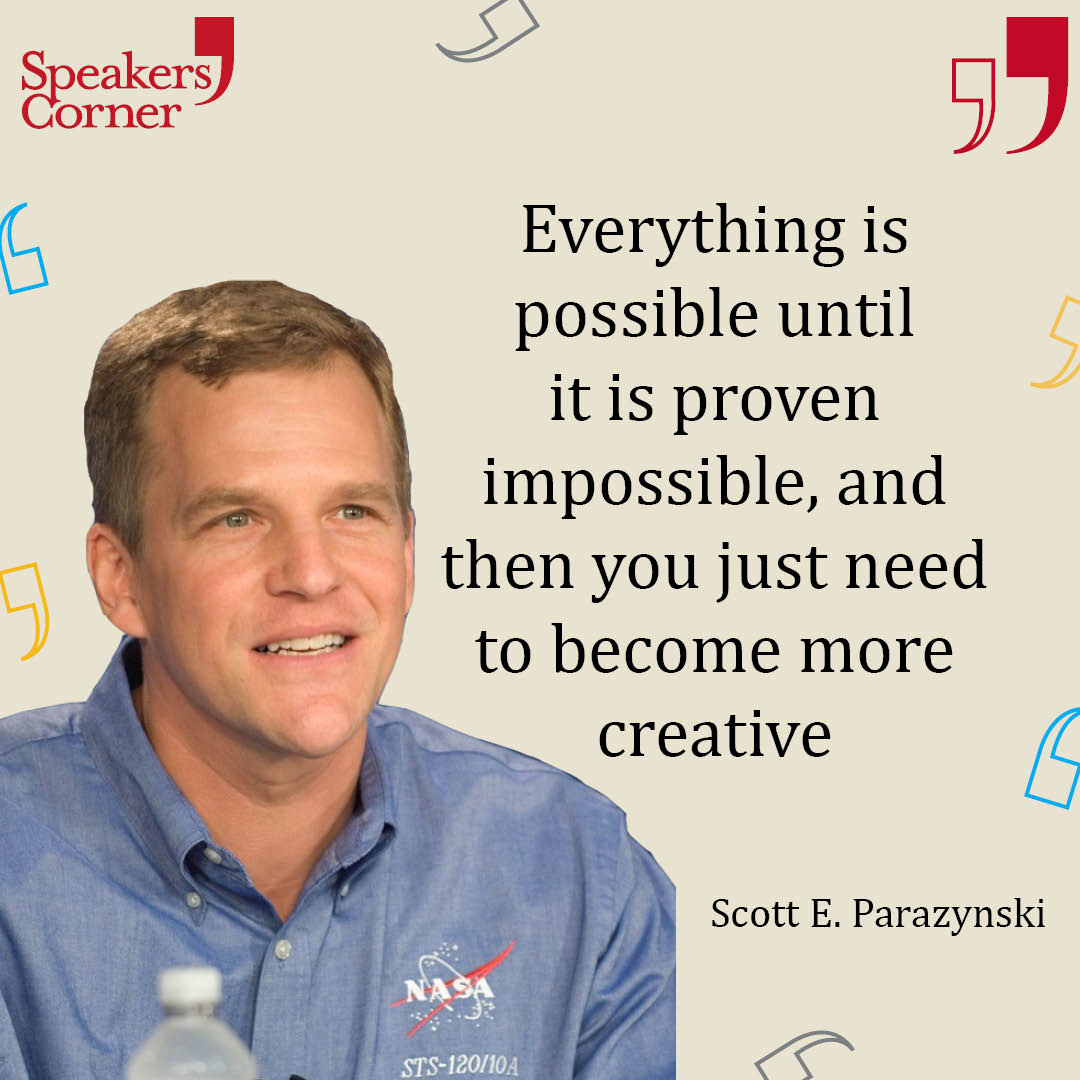 Creativity is key with today's #mondaymotivation from the delightful @AstroDocScott. Just the little uplift we need to get us going, we can feel it's going to be a great week!  #events #eventprofs